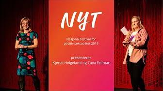 Tuva Fellman intervjuer festivalsjef Kjersti Helgeland -